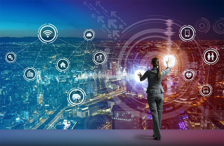 smart city, smart cities, connected, urban living, sensors, autonomous vehicles, wi-fi, bluetooth